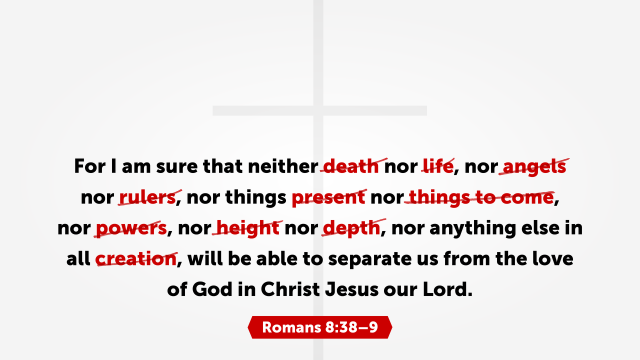 Romans 83 8