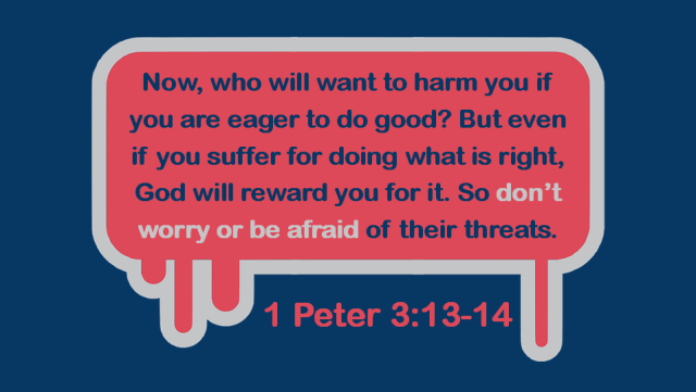 1 Peter 3 13-14