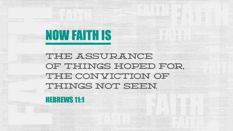 Hebrews 11 1