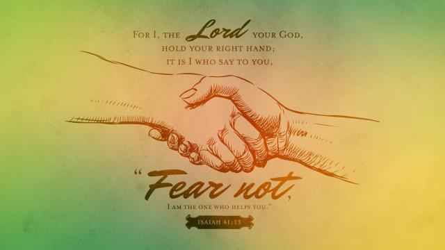 Isaiah 41 13