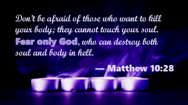 Matthew 10 28
