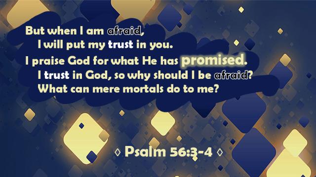 Psalm 56 3-4